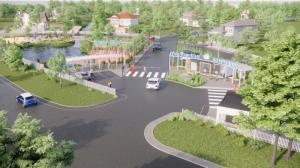 Под Петербургом началось строительство коттеджного поселка на 1000 жителей