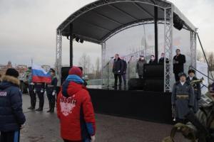 Михаил Романов напутствовал призывников спортивной роты перед отправкой в ряды Вооруженных Сил