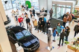Популярность новой ŠKODA OCTAVIA растет: в салонах ŠKODA WAGNER подвели итоги Дней открытых дверей