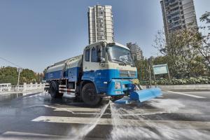 Благодаря коробкам передач Allison 3000 SeriesTM коммунальной службе Шанхая удалось повысить эффективность своего парка поливомоечных машин