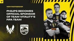 Команда Team Vitality по FIFA объявляет о партнерстве c Philips Monitors