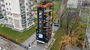 Реализация проекта развития сети карусельных парковок.