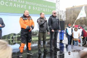 Михаил Романов принял участие в экоакциях, приуроченных ко Дню благоустройства