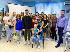 В Волгограде состоялся третий семинар в рамках проекта «Школа особенного родителя»