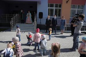 В день защиты детей Михаил Романов принял участие в открытии детского сада № 71 Невского района