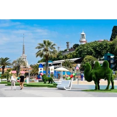 Набережная и пляж «Маяк» открыты для посетителей