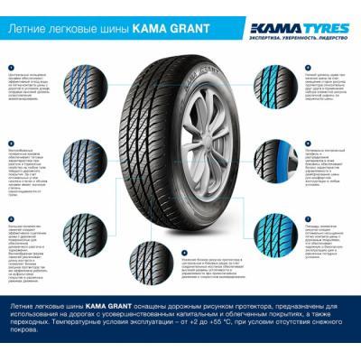 Шины KAMA GRANT от KAMA TYRES установят на автомобили LADA