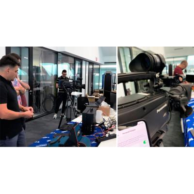 Состоялось тестирование видеооборудования в сети 5G компанией Panasonic и Сколтех