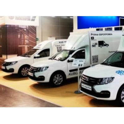 Lada выставила три новых фургона на Comtrans 2021