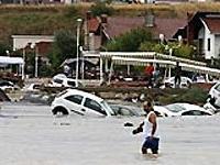 Сильнейшее наводнение в Стамбуле