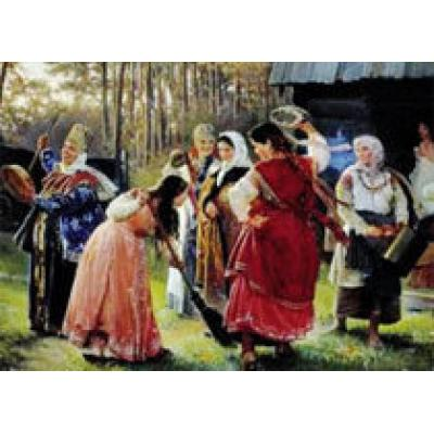 Какие ритуалы и обряды проводились на Руси в период подготовки к свадьбе?