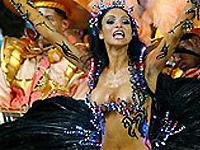 Королева карнавала Рио-де-Жанейро — семилетняя танцовщица