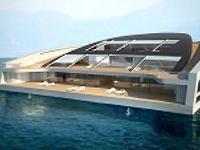 Роскошная яхта-остров