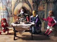 Марионетки выставлены в музее Кадани