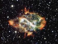 Астрономы нашли в космосе гигантскую двойку