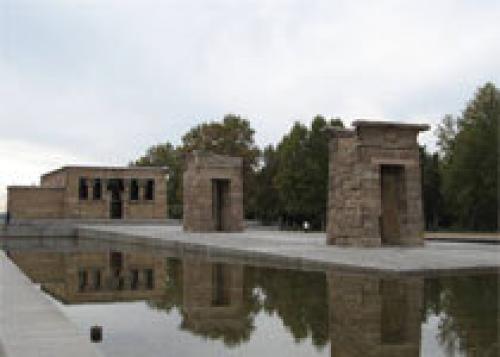 Египетский храм в Мадриде