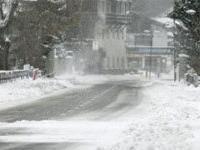 В Австрии неожиданно выпал снег