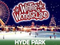 В Лондоне открылся парк зимних развлечений