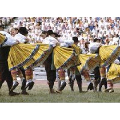 На XI Молодежный фестиваль песни и танца в Таллине съезжаются десятки тысяч исполнителей