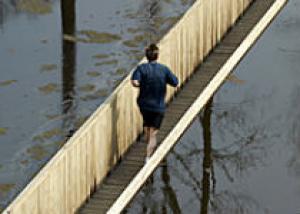 В Нидерландах построили уникальный мост