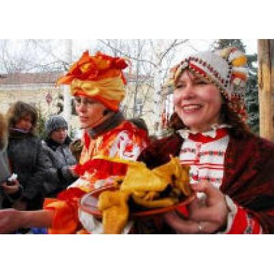 Москва готовится к Масленице