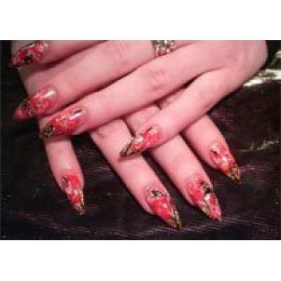 Аквариум на ногтях