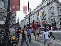 Во время Олимпийских игр число туристов в Лондоне снизилось на 30%