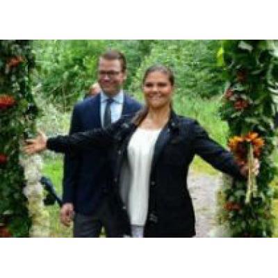Принцесса Швеции открыла «Тропу любви»