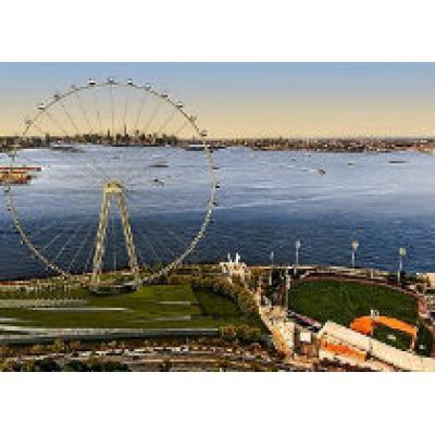 В Нью-Йорке строят самое огромное в мире колесо обозрения