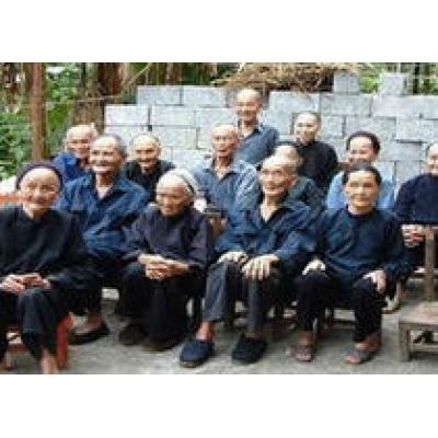 Китайская деревня долгожителей становится все популярней у туристов