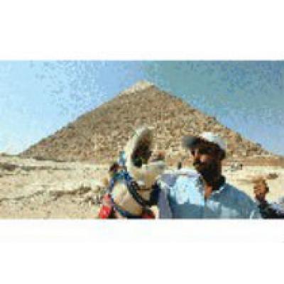 Пирамида Хефрена в Египте открыта после реставрации