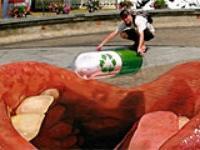 В Таиланде проходит фестиваль уличного искусства
