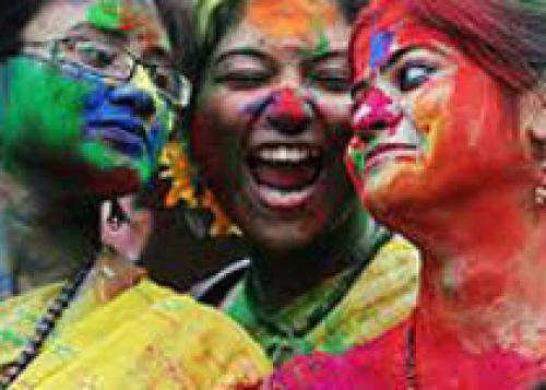 27 марта в Индии отмечают праздник весны