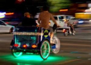 В центре Одессы будут курсировать велотакси