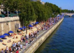Париж открыл пляжный сезон