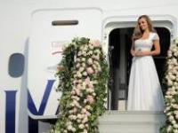 Кэтрин Дженкинс приняла участие в летней вечеринке British Airways по случаю 10-летия полетов авиакомпании в Шанхай