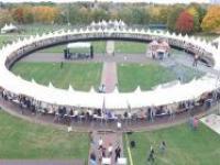 В Москве построили самый большой круглый стол в мире