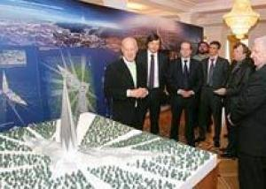 Норман Фостер придумал для Ханты-Мансийска башню-кристалл