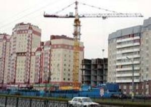 В Подмосковье в первом полугодии 2007 года объемы строительства жилья увеличились на 80%