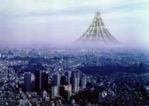 В Японии спроектировали небоскреб для Токио высотой 4 километра
