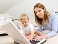 Как сочетать воспитание ребёнка и работу