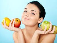 Цвет фруктов и овощей влияет на тон кожи
