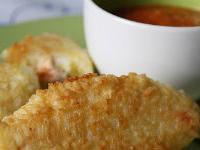 Рисовые зразы с рыбой по-тайски