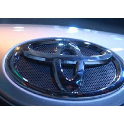 Продажи Toyota в России увеличились в полтора раза