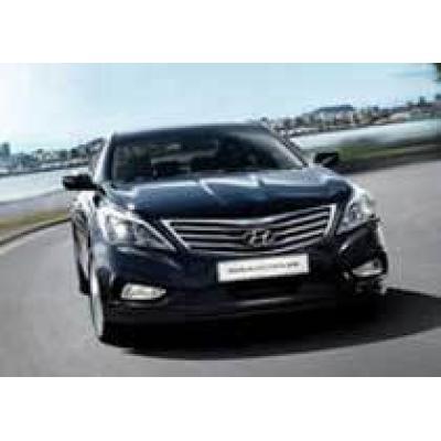 В России появится новый Hyundai бизнес-класса
