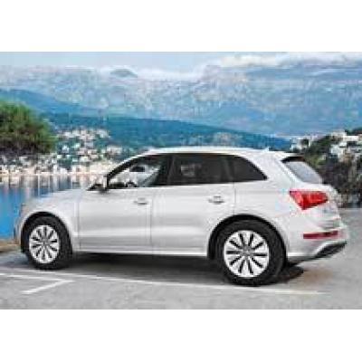 В России начались продажи гибрида Audi Q5