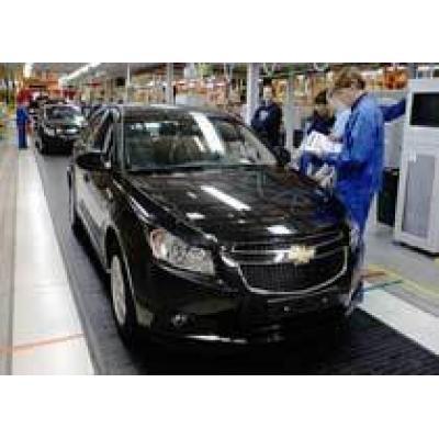 В 2012 году General Motors увеличит объем производства в России на 40%