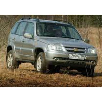 GM-АвтоВАЗ увеличил производство Chevrolet Niva на 40%