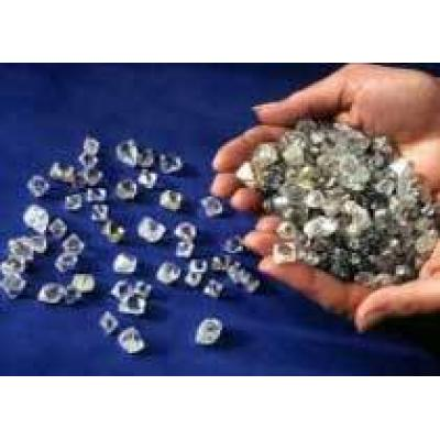 Россия заняла 2-е место по добыче алмазов