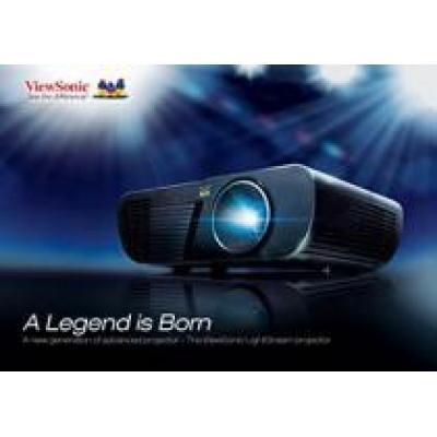 ViewSonic представляет серию проекторов LightStream с премиальным дизайном и эксклюзивными технологиями